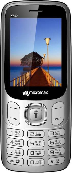 Micromax X749 Silver