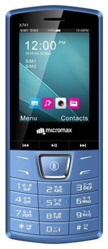 Micromax X741 Dual Sim Blue