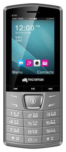 Micromax X741 Dual SIM (Grey)