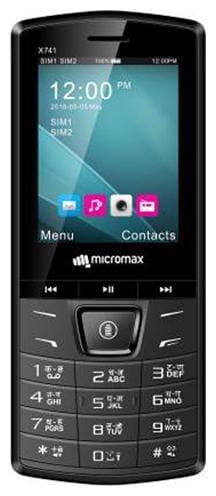 Micromax X741 Dual Sim Black
