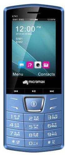 Micromax X741 Dual SIM (Blue)