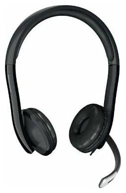 Microsoft LifeChat LX-6000 Headset - Stereo - USB - Wired - Over-the-head -