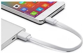 Mini Micro USB short Length Fast Charging cable For All Android smart Phones - Specially For Power bank [Charging Only]