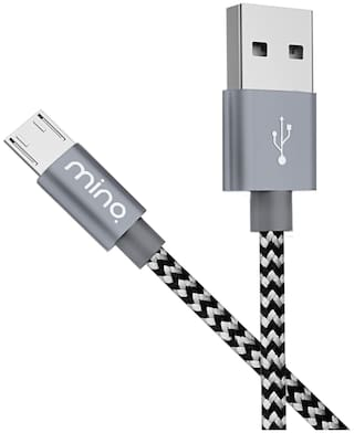 MINQ - 1M Micro USB Xiaomi Data Cable Xiaomi High Speed Data Cable for Xiaomi Cable For Android Mobile & Fast Charging USB Cable For Xiaomi