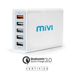 Mivi DC58Q3-WT Desktop Charger (White)