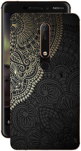 MJR Back Cover For Nokia 6.1