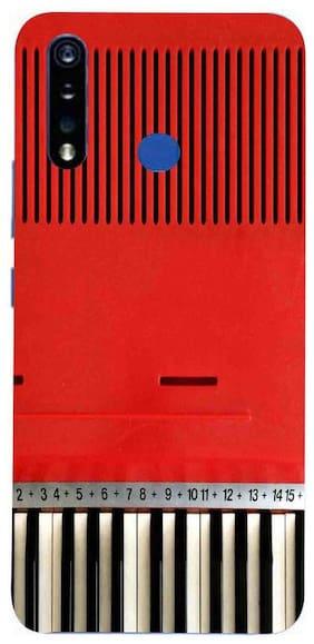 MJR Printed Soft Back Cover For Vivo U20 (Multi)