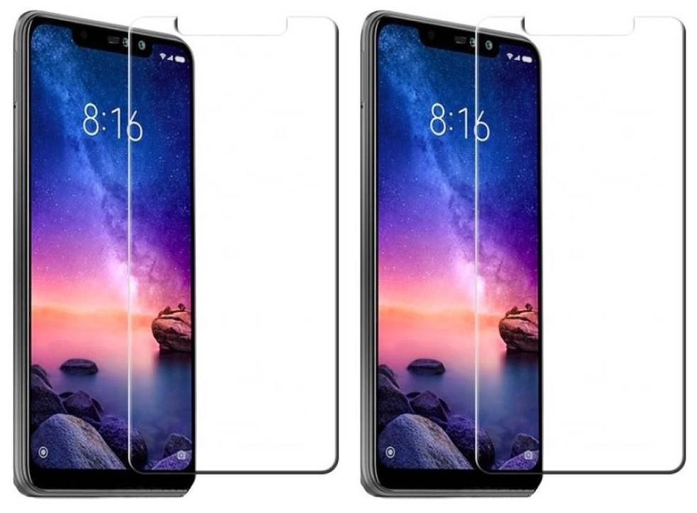 Tempered glass for redmi note 6 pro (Pack of 2)