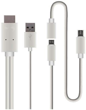 CHG Data & Charging Micro USB Cable ( 0-0.2m , White )