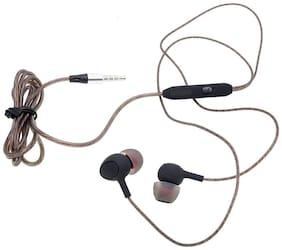 Mobality Ear_Rock 04 In-Ear Wired Headphone ( Brown )