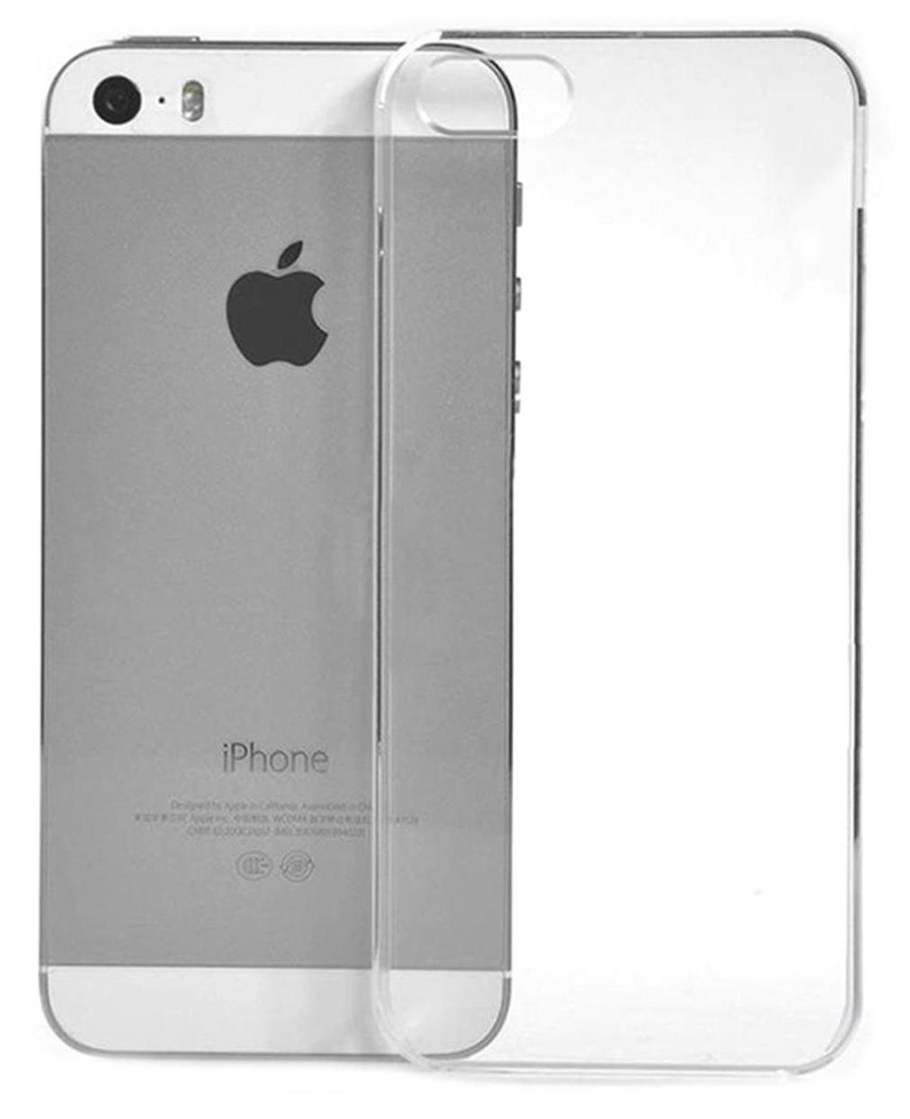 Mobi Safe Back Cover For Apple iPhone 5/5s  Transparent