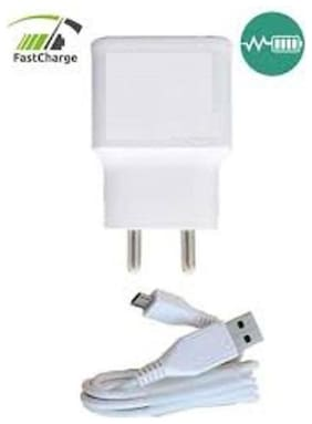 MOBILE CHARGER FOR VIVO 2 AMP FAST CHARGE WITH USB DATA CABLE