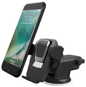 Mobile Holder One Touch Long Nack Car & Desk Mount r for All mobile & iPhone 6s Plus 6s 5s 5c, Samsung Galaxy (Holds devices from 2.3 to 3.5 inches wide)