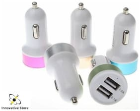 Mobile usb car charger colour
