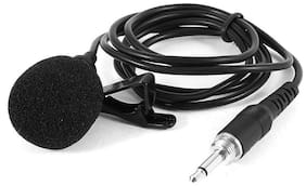 MOBONE  3.5mm Clip Microphone For Youtube, Collar Mike For Voice Recording