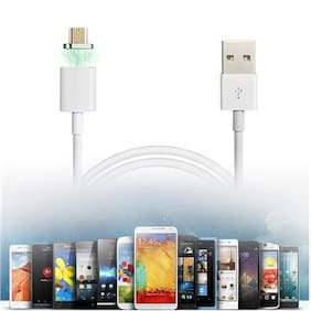 MOIZON Magnetic Micro USB Plug Charger Adapter Charge Cable for Android