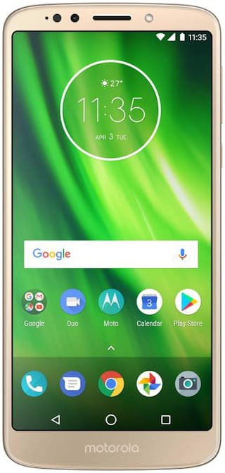 Moto G6 Play 32 GB Fine Gold 3 GB RAM Mobiles Online @ Best