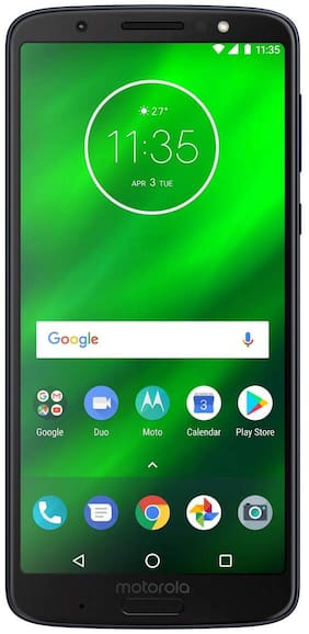 Moto G6 Plus 64 GB Indigo Black