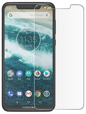 Moto One Power Tempered Glass (Pack of 1)