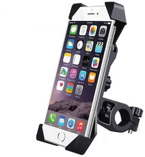Motorcycle Bicycle MTB Bike Mobile Phone Cradle Adjustable Handlebar Mount Bracket Holder Support Stand Bike & Bicycle Mobile Mount Holder By Tech-X