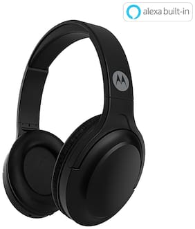 Motorola ESCAPE 200 WITH ALEXA Over-ear Bluetooth Headsets ( Black )