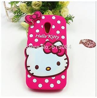 more photos 63584 46139 Motorola Moto G (2nd Gen) Back Cover - Dream2Cool Printed Hello Kitty Soft  Rubber Silicone Pink Back Cover Case For Motorola Moto G (2nd Gen) Back ...