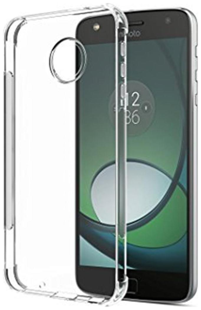 Motorola Moto Z play transparent back cover