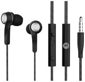 Motorola Pace 120 with Alexa Pace 120 with Alexa In-Ear Wired Headphone ( Black )