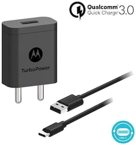 Motorola SJSC54-C Turbopower 18 Charger with C-Type Charging Cable
