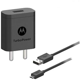 Motorola SJSC54 Turbopower 18 Charger with Micro USB Charging Cable (Black)