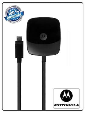 Motorola Turbo Fast Charger With 2.8 Amp Charging Speed/ Wall Charger Compatible For All Motorola & Android Phones Comes With 3 Months Seller Replacement Warranty