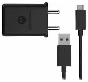 Motorola TurboPower 15W Wall Charger (Black)