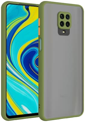 MPE Back Cover For Redmi Note 9 Pro Max - Light Green
