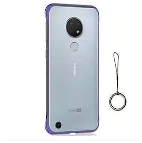 MPE Frameless Back Cover For Nokia 7.2 - Blue