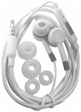 MS TRADING COMPANY MI2 In-Ear Wired Headphone ( White )