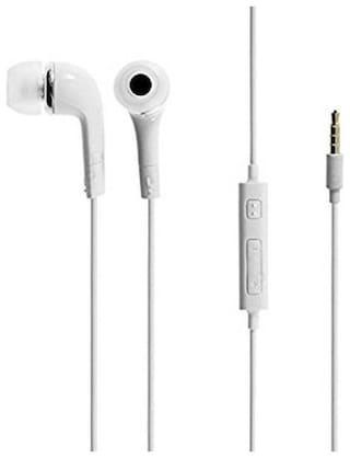 MS TRADING COMPANY YR In-Ear Wired Headphone ( White )