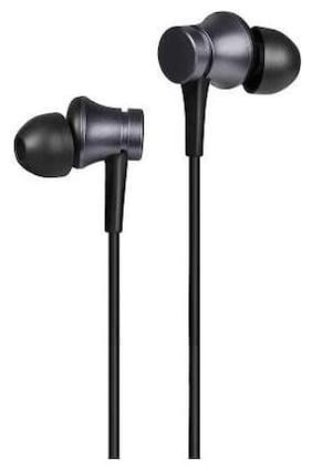 MS TRADING COMPANY MI-Basic In-Ear Wired Headphone ( Black )