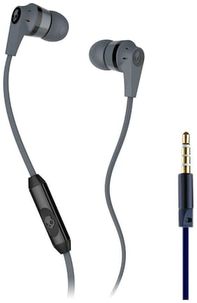 QUXXA SC-109 In-Ear Wired Headphone ( Grey & Black )