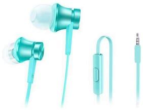 QUXXA MI-Basic In-Ear Wired Headphone ( Blue )