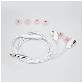 QUXXA Dual Driver DD-100 In-Ear Wired Headphone ( White )