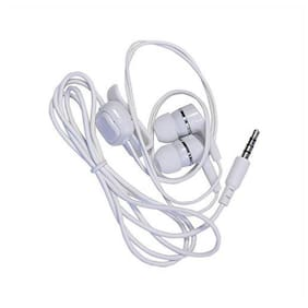 QUXXA Champ-140 In-Ear Wired Headphone ( White )