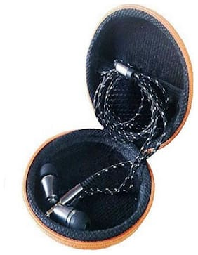 QUXXA Pouch HF In-Ear Wired Headphone ( Black )
