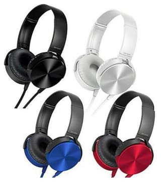 QUXXA XB-450 Over-Ear Wired Headphone ( Assorted )