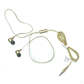 QUXXA Perfume HF In-Ear Wired Headphone ( Gold )