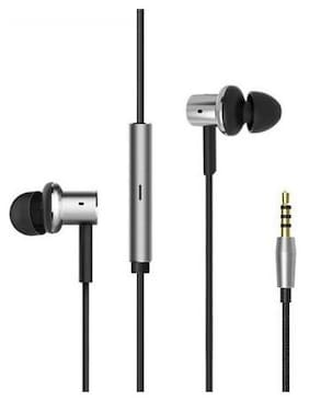 QUXXA MI-Basic In-Ear Wired Headphone ( Silver & Black )