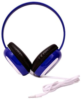 QUXXA HP-1080 Over-Ear Wired Headphone ( Multi )