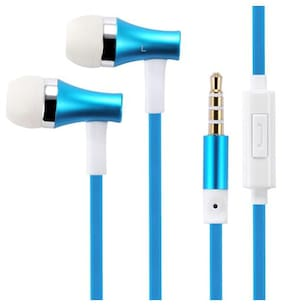 QUXXA Champ-150 In-Ear Wired Headphone ( Blue )