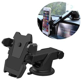 MSTC Universal Silicone Car Mobile Holder for windshield Dashboard Car Mount Long Neck 360° Rotation (1 Pcs) PCH001