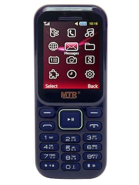 MTR MT 310 Dual SIM Feature Phone (Blue)