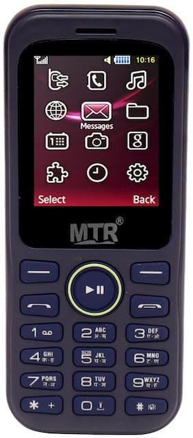 MTR MT 313 Dual SIM Feature Phone (Blue)
